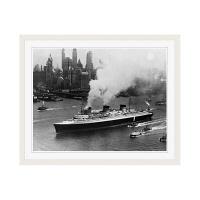アートプリントジャパン 「ニューヨーク(1935年)」 フレーム/M/ホワイト 1枚