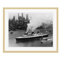 アートプリントジャパン 「ニューヨーク(1935年)」 フレーム/L/木目 1枚