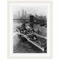アートプリントジャパン 「ニューヨーク(1943年5月27日)」 フレーム/S/ホワイト 1枚