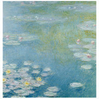アートプリントジャパン 「Nympheas at Giverny by Monet Claude」 キャンバス/L 1枚