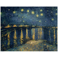 アートプリントジャパン 「The Starry Night 1888」 キャンバス/S 1枚