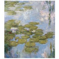 アートプリントジャパン 「Nympheas by Claude Monet」 キャンバス/M 1枚