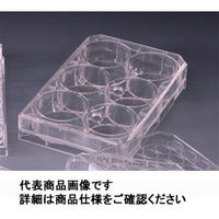 AGCテクノグラス 組織培養用マイクロプレート(付着性細胞用) 6well MyPack 1ケース10枚入 3810-006-MYP 1ケース  (直送品)
