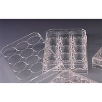 AGCテクノグラス 組織培養用マイクロプレート(付着性細胞用) 12well 1ケース50枚入 3815-012 1ケース  (直送品)