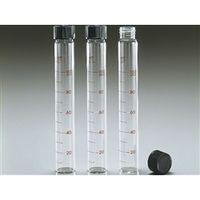 AGCテクノグラス 水質試験用試験管(キャップ付) 1ケース10本入  9827TST32-230F 1ケース  (直送品)