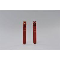 AGCテクノグラス 透明摺合せ遠心沈澱管(丸底, 共栓付, 茶) 100mL 1ケース10本入 58524CTF100 1ケース  (直送品)