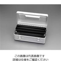 エスコ(esco) 410x210x150mm 片開き工具箱 1個 EA504AD-11(直送品)