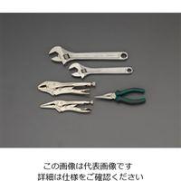 エスコ(esco) モンキーレンチ&プライヤーセット(トレー入) 1組 EA687YA-26(直送品)