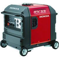 HONDA サイクロコンバーター搭載発電機 2.2kVA(交流専用)車輪付 EX22K1JNA3 451-5242(直送品)