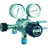 ヤマト産業 分析機用圧力調整器 NPRー1B  NPR1BTRC12 1台 434-4855 (直送品)