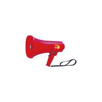 ノボル電機 ノボル レイニーメガホン15W 防水仕様 サイレン音付き(電池別売) TS-713P 1個 433-4302(直送品)