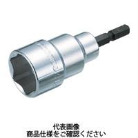 トラスコ中山(TRUSCO) TRUSCO 電動ドライバーソケット ショートタイプ 6mm TEF-6S 1個 449-8925(直送品)