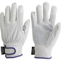 トラスコ中山 マジック式防寒豚本革手袋 当て付タイプ LLサイズ TWLG-LL 1双 437-7800(直送品)