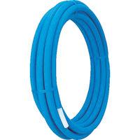 タブチ TBC 被覆架橋ポリエチレンパイプ ブルー16mm×10M HC-16HON5B-10M 1巻 432-4412 (直送品)