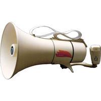 ノボル電機 ノボル ショルダータイプメガホン13Wホイッスル音付き(電池別売) TM-208 1台 433-4256(直送品)