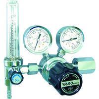 ヤマト産業 汎用小型圧力調整器 YRー90F(流量計付)  YR90FO2TRC 1台 434-6831 (直送品)