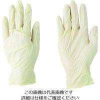 川西工業 川西 天然ゴム使いきり手袋 (100枚入) 2032-M 1箱(100枚) 433-8987(直送品)