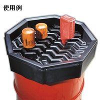 ニューピグコーポレーション ピグ(R)ドラムファンネル(日本製ドラム缶用)  DRM611B 1セット(1箱:1個入×1)  (直送品)