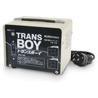 育良精機 ポータブルトランス(降圧器)(40215) TB-20 1台 436-0125 (直送品)
