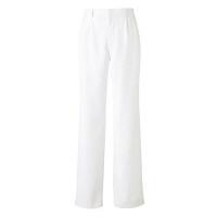 KAZEN メンズスラックス 医療白衣 ホワイト LL 252-20 (直送品)