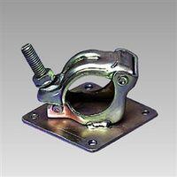 ユニット 単管用取付金具 90×90×3mm  396-50 1個 396-50 (直送品)