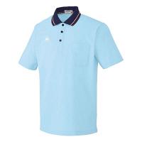 ルコックスポルティフ 介護ウェア ポロシャツ(男女兼用) アクア L UZL3011 (直送品)