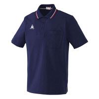 ルコックスポルティフ 介護ウェア ポロシャツ(男女兼用) ネイビー M UZL3011 (直送品)