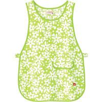 ルコックスポルティフ 介護ウェア 花柄ベストエプロン若草色 フリーサイズUZL7023 (直送品)