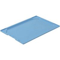 サンコー オリコンL51Bフタ ライトブルー 1箱(20個入) (直送品)