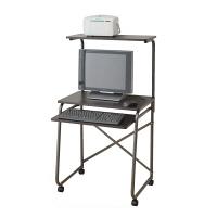 YAMAZEN(やまぜん) パソコンデスク 幅650mm ダークブラウン 1台 (直送品)