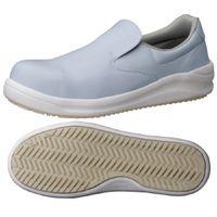 ミドリ安全 JSAA認定 耐滑 安全作業靴 スリッポン NHS600 大 30.0cm ブルー 1足 2125033503(直送品)