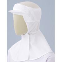 ミドリ安全 フード (ツバ付・マスク掛け無しタイプ) SHー202W ホワイト M 3189133204 1着  (直送品)