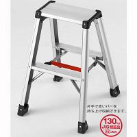 Hasegawa(長谷川工業) アルミ合金 軽量専用脚立 脚軽130 2段 (2尺 60cm) RZ2.0-06 1台 (直送品)