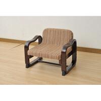 YAMAZEN(山善) 優しい座椅子 ダークブラウン 1脚 SKC-56L(VS1) (直送品)
