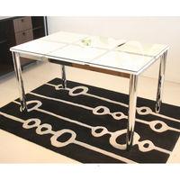 東馬(Tohma) frast ダイニングテーブル ホワイト 幅1500×奥行800×高さ730mm 1台 (直送品)