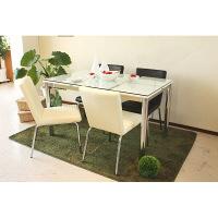 東馬(Tohma) frast ダイニングテーブル ホワイト 幅1300×奥行800×高さ730mm 1台 (直送品)