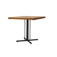 東馬(Tohma) Kelt(ケルト) カフェテーブル ブラウン 幅720×奥行720×高さ680mm 1台 (直送品)