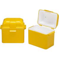 サンコー 保冷牛乳箱 7型(セット) 20033701YE304 (直送品)