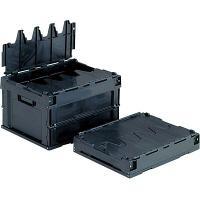 サンコー サンクレットオリコン 20B(導電) フタ一体型 20.8L ブラック (直送品)