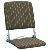 ミヤタケ(宮武製作所) 折りたたみ座椅子 ブラウン YS-424 BR (直送品)