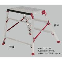 PiCa Corp(ピカコーポレイション) 踏台 アルミ合金 折畳式作業台リョーマ 2段 50cm DXD-50P 1台 (直送品)
