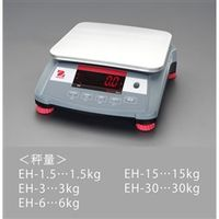 esco(エスコ) 卓上型デジタルはかり 3kg(最小表示0.1g) EA715EH-3 1台 (直送品)