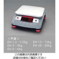 esco(エスコ) 卓上型デジタルはかり 6kg(最小表示0.2g) EA715EH-6 1台 (直送品)