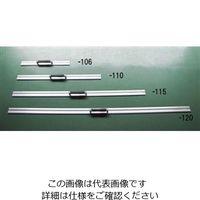 エスコ(esco) 600mm カッター定規(取手付) 1セット(2個:1個×2本) EA720YW-106(直送品)