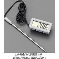 esco(エスコ) 53x28mmデジタル温度計 EA728AK-1 1セット(2台) (直送品)
