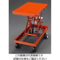 エスコ(esco) 350x 570mm/120kg テーブルリフト(ハンドル無) 1台 EA520XC-1(直送品)