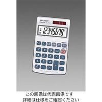 エスコ(esco) 8桁計算機(116x71mm) 1セット(5個) EA761G-21B(直送品)