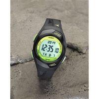 esco(エスコ) 1/100秒 防水 スポーツウォッチ(ラップメモリー) 腕時計 EA798H-302B 1個 (直送品)