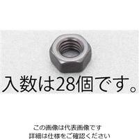 エスコ(esco) M 4 六角ナット(ステンレス/黒色/28個) 1セット(560個:28個×20袋) EA949LT-204(直送品)