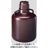 Nalgene 広口試薬ボトル 褐色 10L 1本 2256-7020JP 1個 1-2687-07 (直送品)